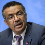 Ethiopian Minister of Foreign Affairs Tedros Adhanom Ghebreyesus attends a press conference launching his candidacy to the post of Director General of the World Health Organization (WHO), on the sidelines of the WHO's annual assembly, on May 24, 2016, in Geneva. Delegates from 194 member-states gather for the second day of the WHO's annual assembly, with the UN agency's chief Margaret Chan warning in an opening address that the world was not prepared to cope with a rising threat from infectious diseases. / AFP / FABRICE COFFRINI        (Photo credit should read FABRICE COFFRINI/AFP/Getty Images)
