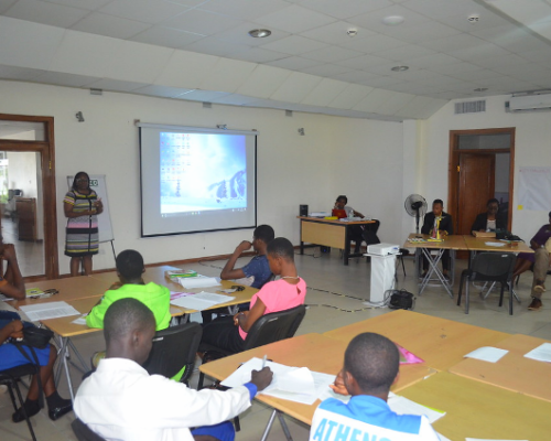 Science, technology, engineering and mathematics (STEM) workshop at the ATED Centre