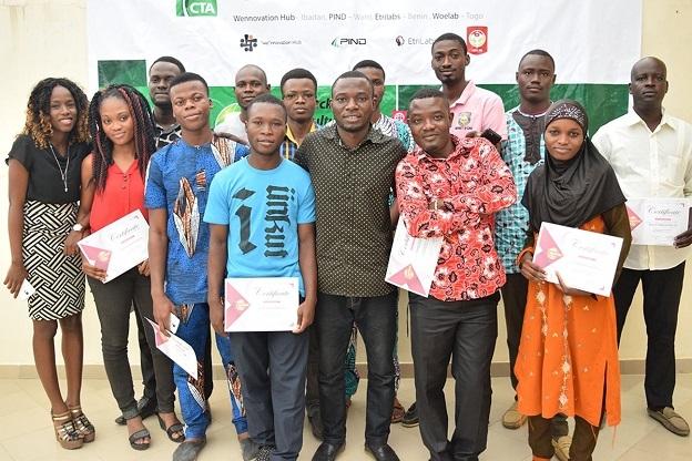 Participants at EtriLabs - Cotonou, Benin