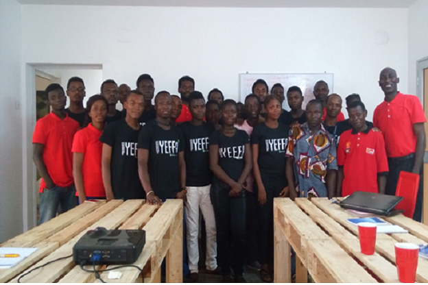 Participants at Woelab - Lome, Togo