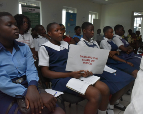 Hopes and Dreams Initiatives collaborates with PIND to host the 2017 Menstrual hygiene day at the ATED centre